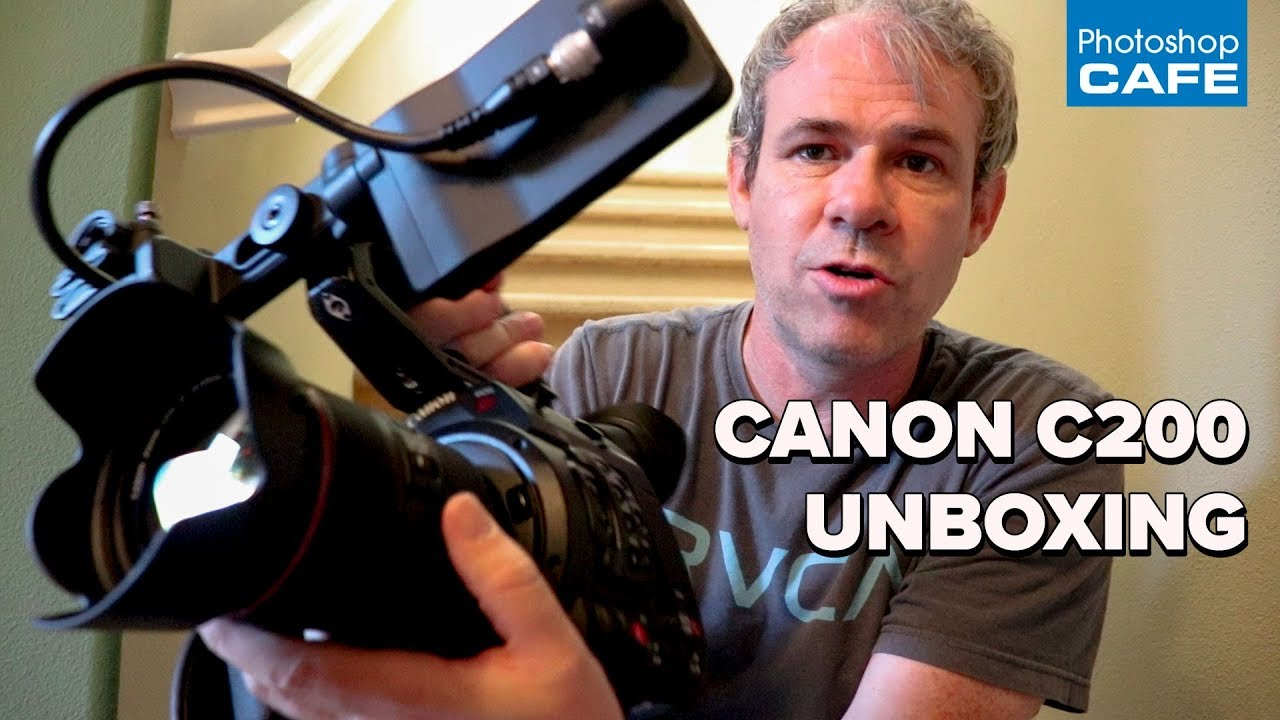 Canon C200 CINEMA CAMERA unboxing, WHY?