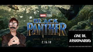 Black Panther /Pantera Negra MARVEL ( 2018) CRÍTICA/REVIEW en español