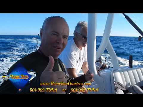 Off Shore Fishing in Venice with Home Run Charters
