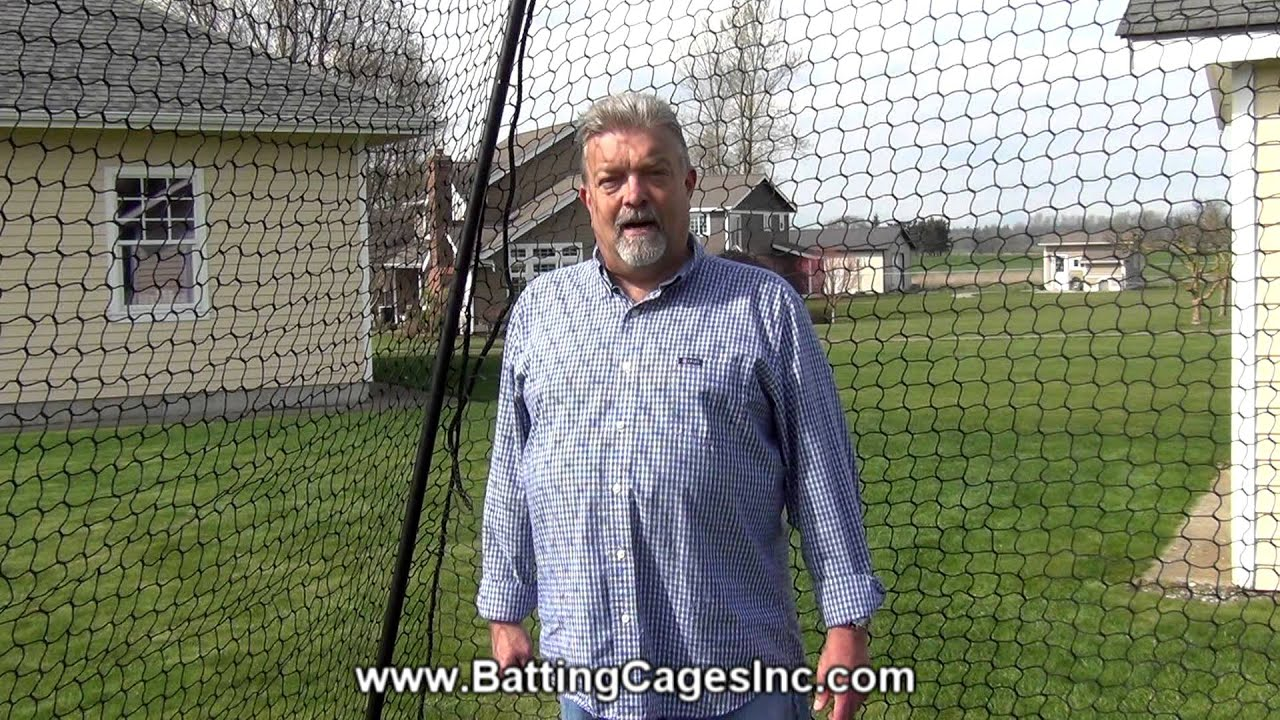 economy model high quality baseball and softball batting cage from