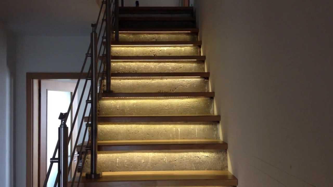 Stair Lighting Controller Led Podsviceni Schodu Youtube
