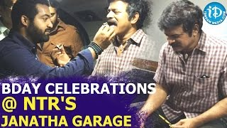 Brahmaji Celebrates His Birthday With Janatha Garage Team - iDream Filmnagar