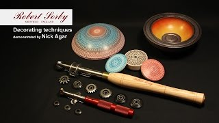 Wood turning, Spiralling and decorating with Nick Agar by Robert Sorby