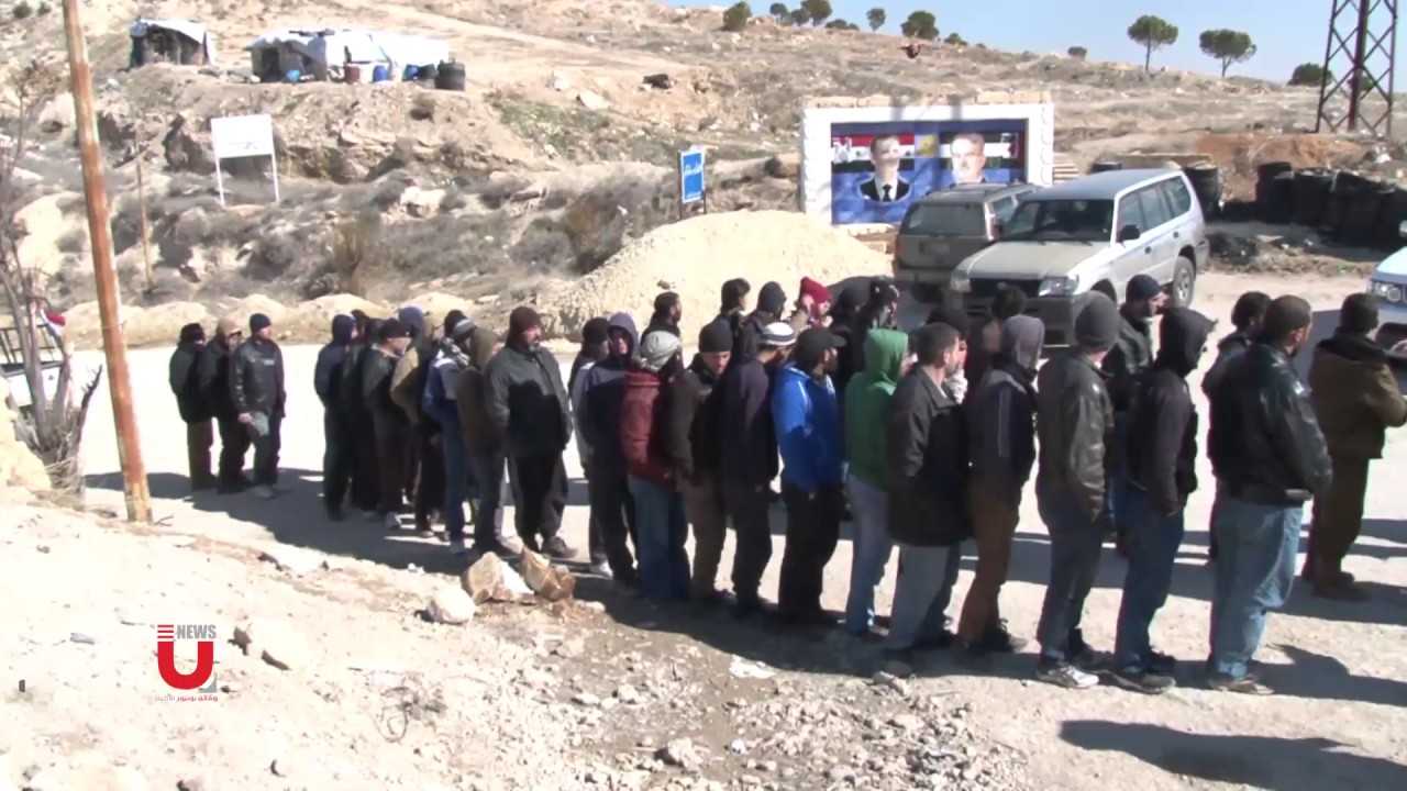 Militants  in Rural Damascus completing reconciliation to regularize their status