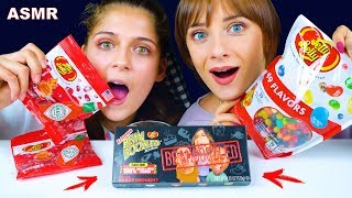 ASMR JELLY BELLY HOT SPICY, SWEET, BEAN BOOZLED (EATING SOUNDS) LiLiBu
