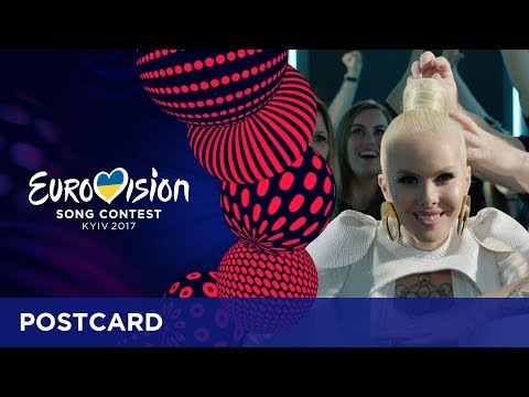 Postcard of Svala from Iceland - Eurovision Song Contest 2017