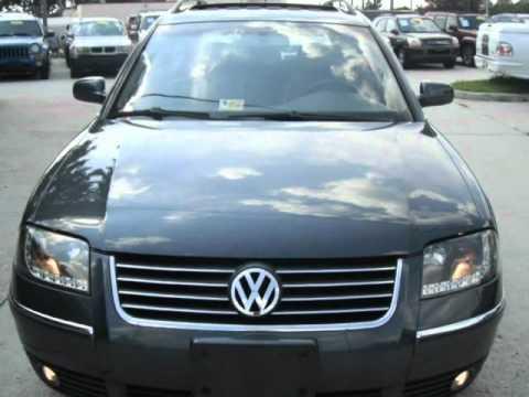 2004 Volkswagen Passat Wagon 4dr Wgn GLX V6 Manual