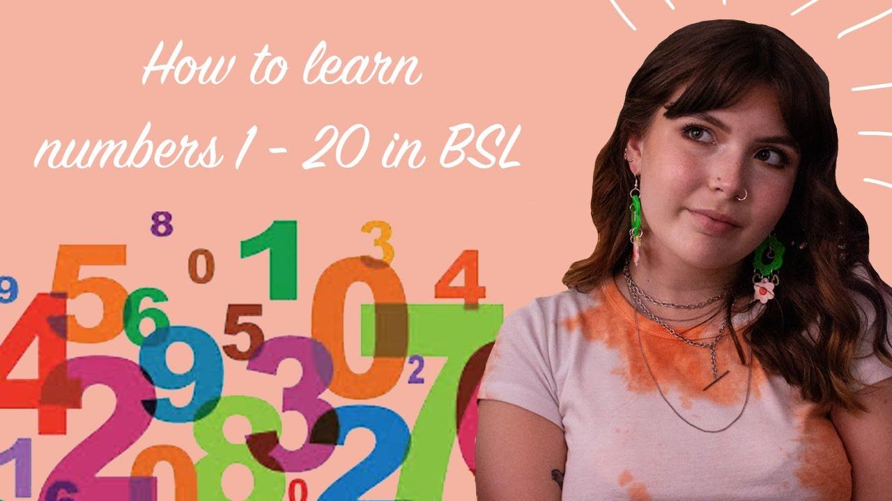 British Sign Language – Numbers 1-20