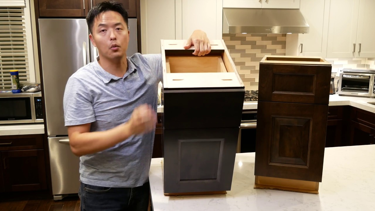 Shs Showplace Wood Products Frameless Evo Cabinet Review Youtube