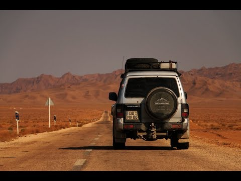 How I crossed Iran by car - a short movie