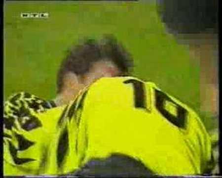 Lars Ricken - Borussia Dortmund vs. La Coruna 6.12.94