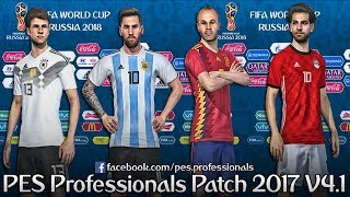 PROFESSIONALS PATCH V4.1 PES 2017 PC TORRENT