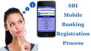 sbi mobile banking registration process   how to activate sate bank freedom