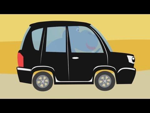 МАШИНКИ - Развивающая веселая детская песенка мультик малышей про разные машины и зверей животных
