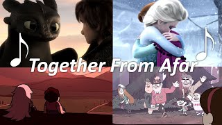 2010s Cartoons - Togęther From Afar