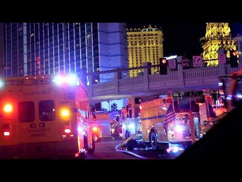 Bellagio On Fire in Las Vegas