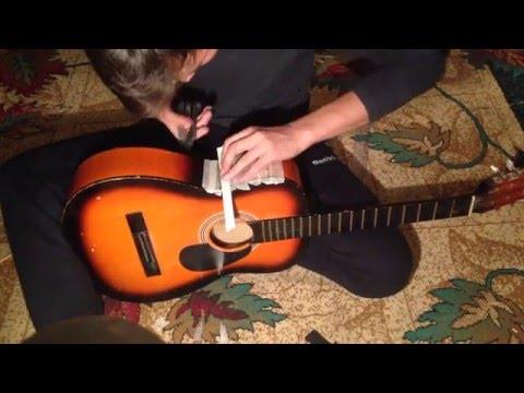 Предусилитель (пьезо звукосниматель) для гитары с Aliexpress за 5$!!! Преамп (preamp)