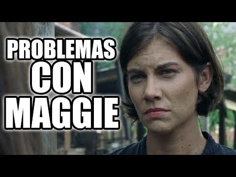 PROBLEMAS ENTRE MAGGIE Y AMC - The Walking Dead Temporada 8 Capítulo 9