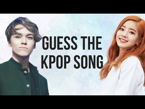 [KPOP QUIZ]GUESS THE KPOP SONG (EASY)