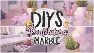 DIYS TRENDY PARA PENTEADEIRA / TOUCADOR MARBLE | Inês Rochinha