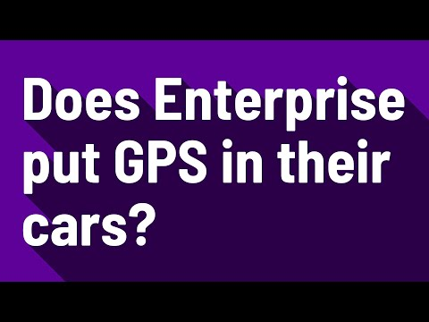 Does Enterprise Put GPS In Their Cars?