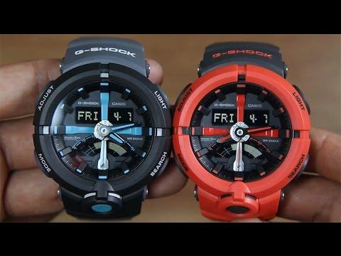 7b763c944fc CASIO G-SHOCK GA-500P-1A VS G-SHOCK GA-500P-4A