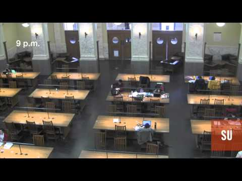 Finals week at Carnegie Library time lapse