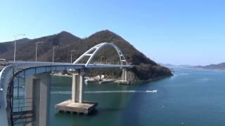 広島の内海橋   o(^▽^)o