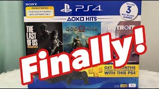 Sony PlayStation 4 Slim Unboxing and Review - Hits 5 Bundle