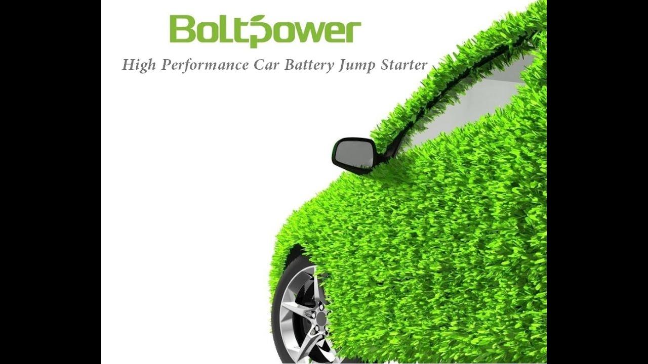 Bolt Power D29 900 Peak Amps Portable Lithium Battery Jump Starter