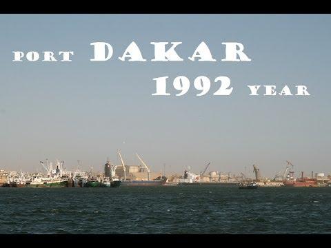 Senegal - port DAKAR 1992 year