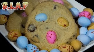 Cadbury Mini Egg Cookies Recipe - Easter Egg Chocolate Chip Cookies