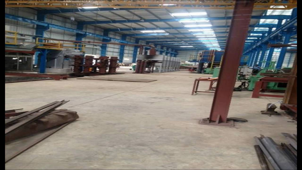 Heavy Duty Floor Industrial Concrete Floor Industrial