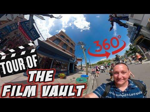360 Shop Tour Of The Film Vault At Universal Studios Florida   AMAZING MOVIE MEMORABILIA