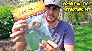 Primitive Fire Starting Kit