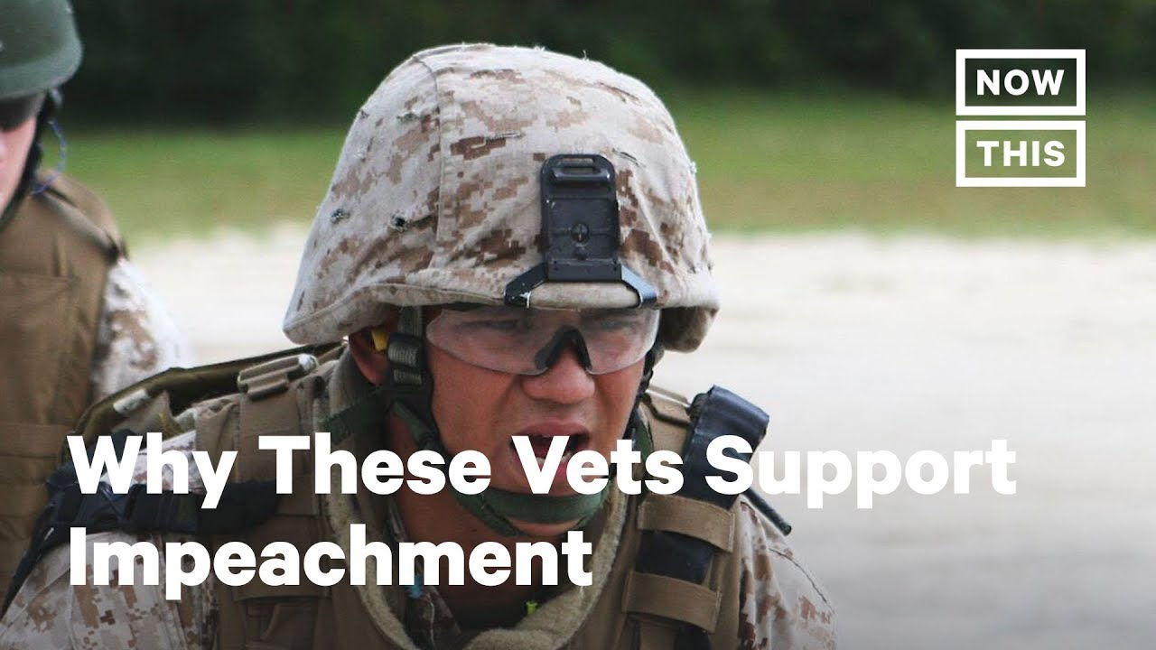 Why These Veterans Support Trump's Impeachment | Opinions | NowThis
