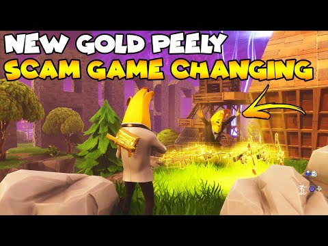 New Gold Peely Scam Is Game Changing! 💯😱 (Scammer Gets Scammed) Fortnite Save The World