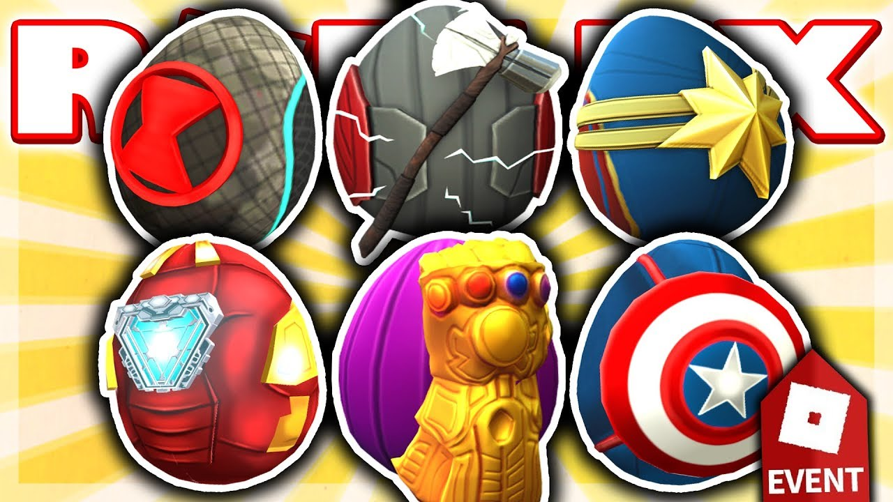 How To Get All 6 Avengers Eggs In Egg Hunt Event 2019 Roblox