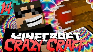 Minecraft CRAZY CRAFT 2.0 | Worms are Jerks! [14]
