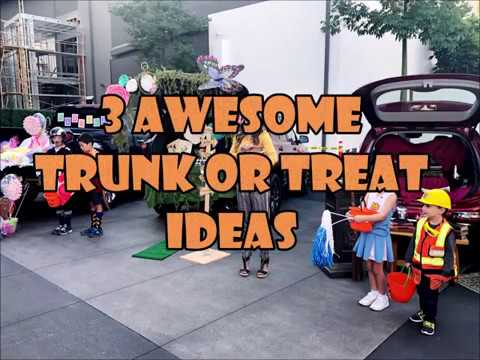 3 Awesome Trunk or Treat Ideas