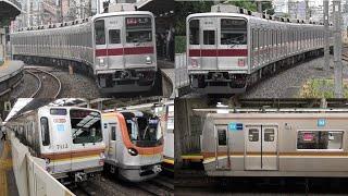 【無事に出場】東武50090系固定運用に就く東武9000系9103F / まだまだ活躍する東京メトロ7000系8両編成7113F 2021.6.17