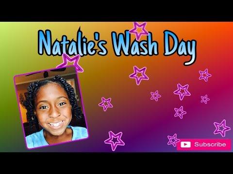 Natalie's Wash Day