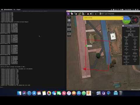 DroneKit Python SITL Simulation and GCS Viewer (qGroundControl on macOS)