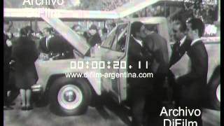 DiFilm - Presentacion Pick Up Jeep Gladiator en Bs. As. (1965)