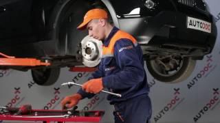 Skifte Foring stabilisatorstag BMW X3: verkstedhåndbok