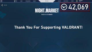 NO NIGHT MARKET... EVERY Skin in Valorant