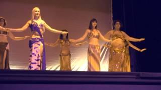 Arianna De Luca -  danza del ventre PonteMoriano2015 saggio 2 HD