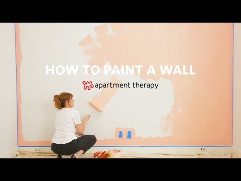 How To Paint A Wall   Apartment Therapy