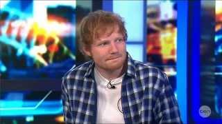 Ed Sheeran's BEST Live Australian Tv Interview 25-9-2014