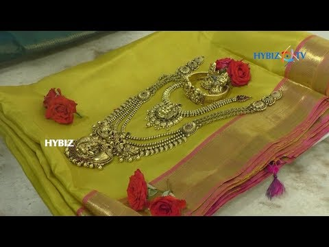 Latest Matching Jewellery with Sarees